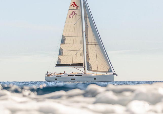 50 Foot Sail Boat