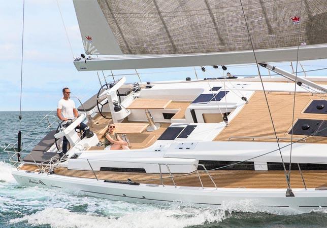 Hanse 548 Sail Boat