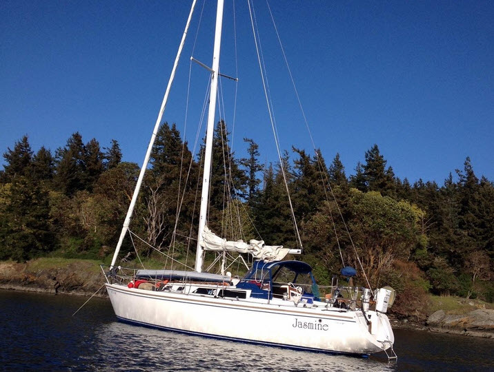 anacortes boat show catalina sailboat