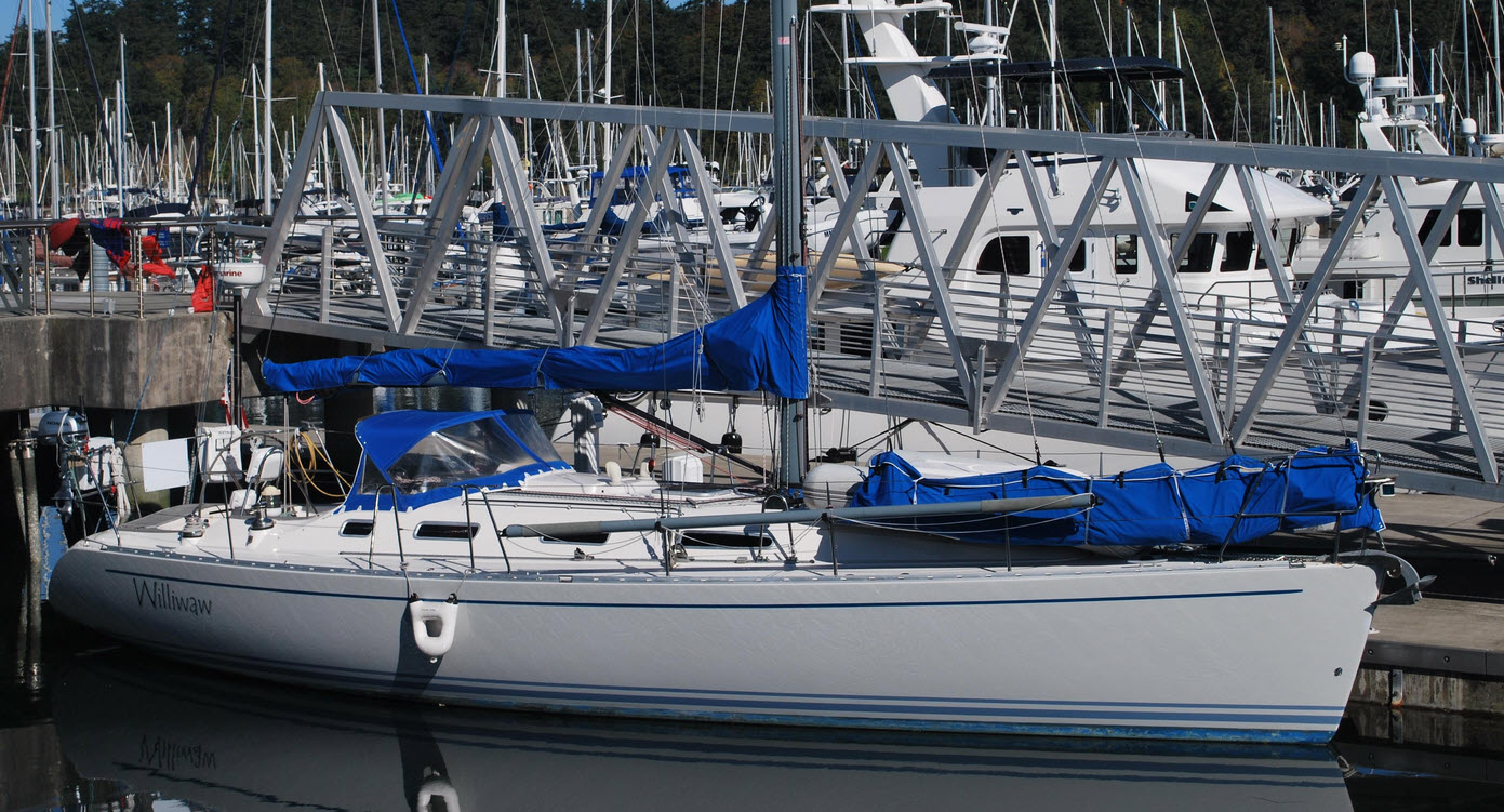 anacortes boat show sailboat for sale