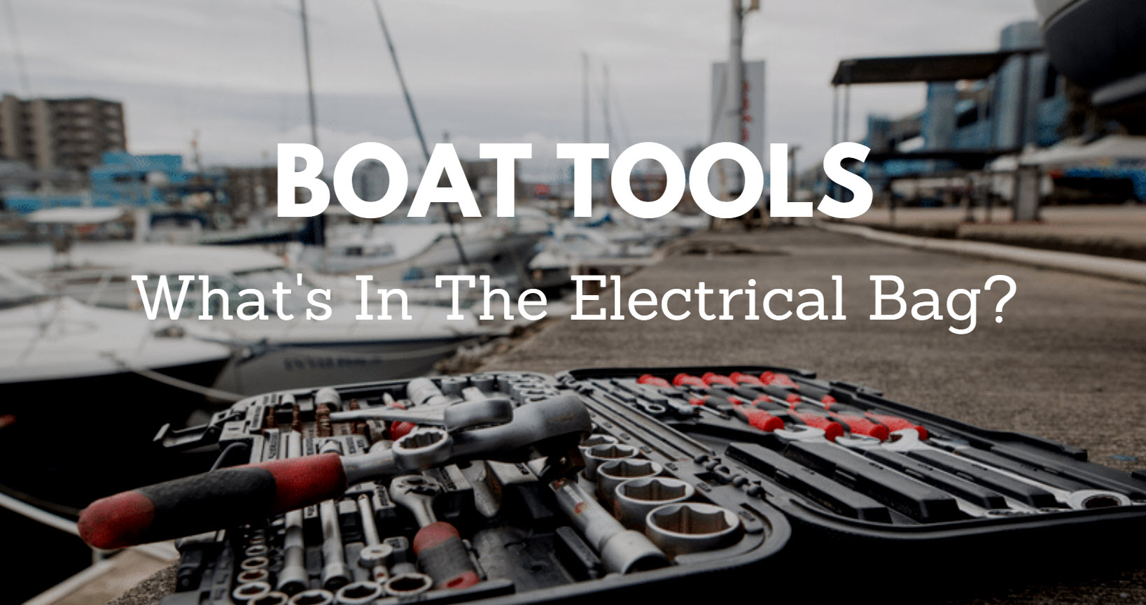 Boat Tools Electrical Bag