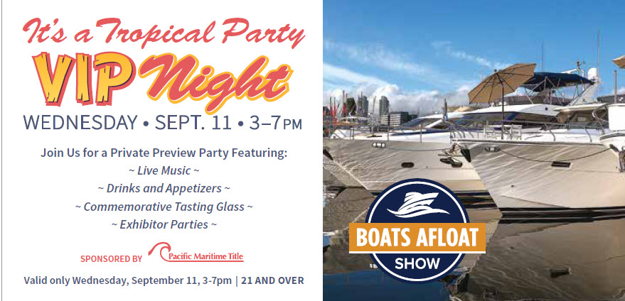 boats afloat show vip night