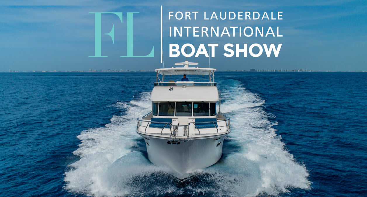 cruising boats at fort lauderdale boat show