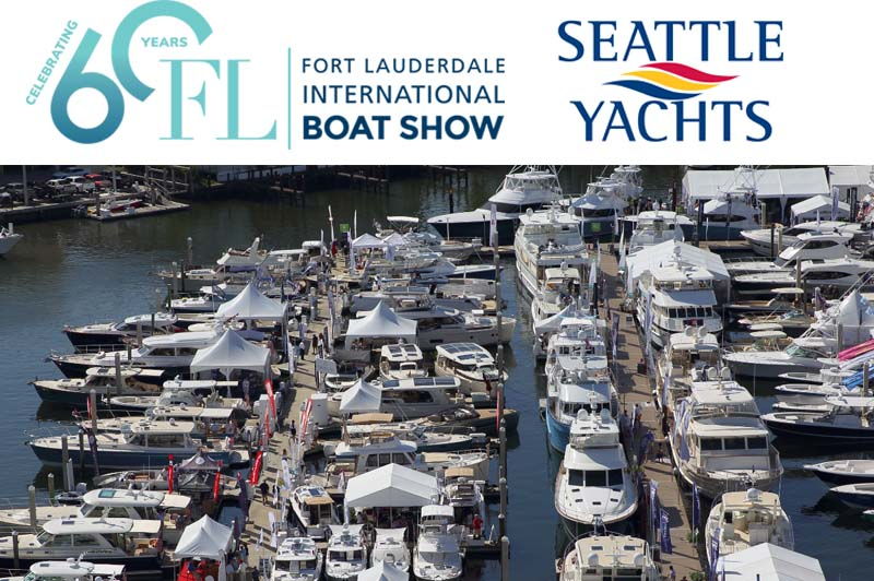 fort lauderdale boat show seattle yachts