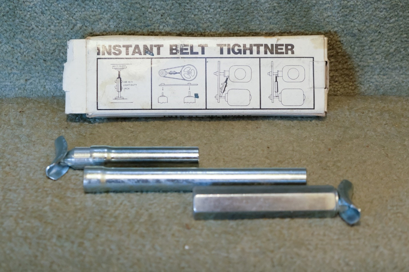Instant Belt Tightner for boat