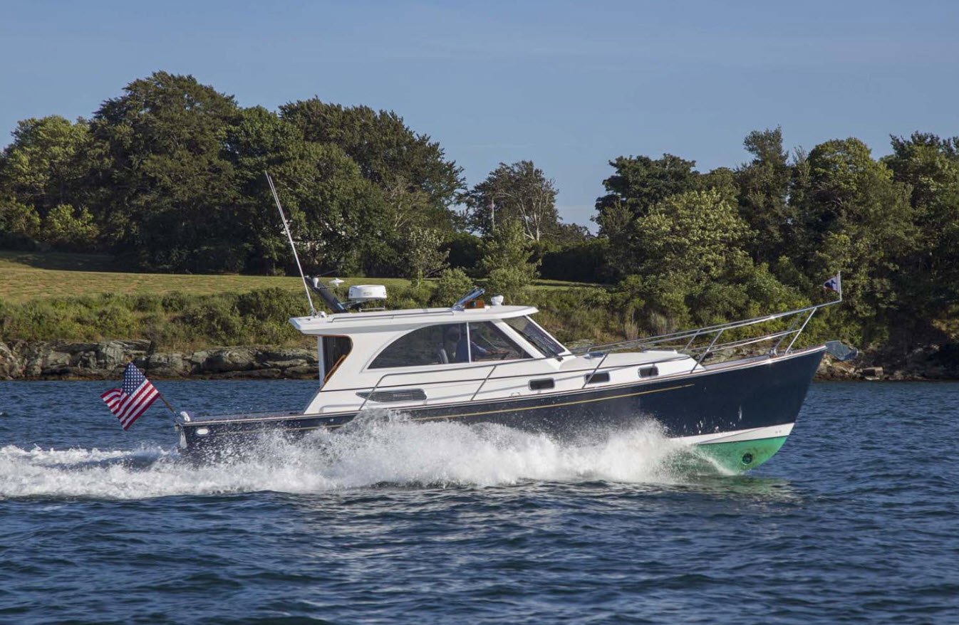 legacy yachts 36 downeast boat show