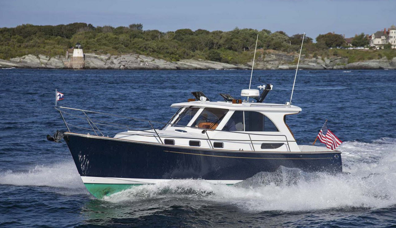 Legacy Yachts 36 Downeast