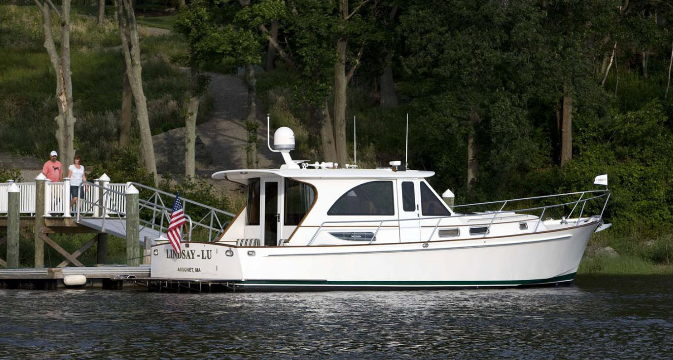 legacy yachts downeast boats