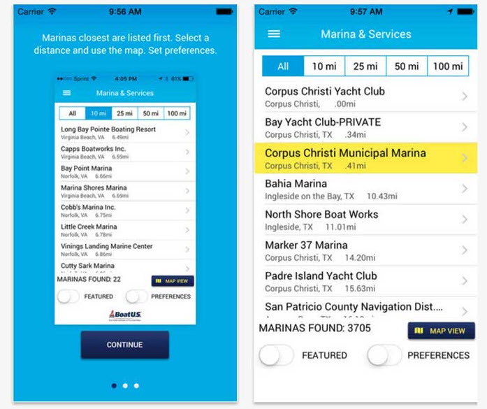 waterway guide marina app