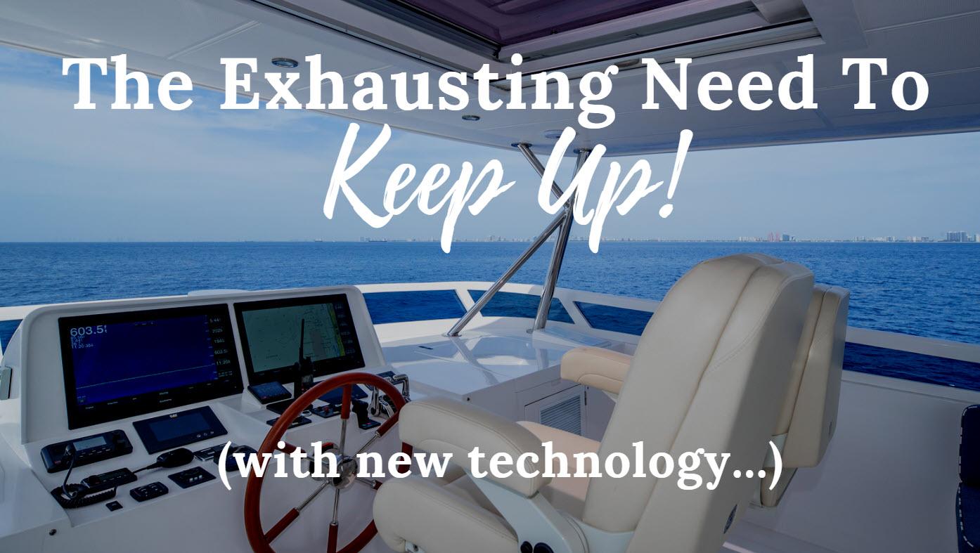 new boat electronics