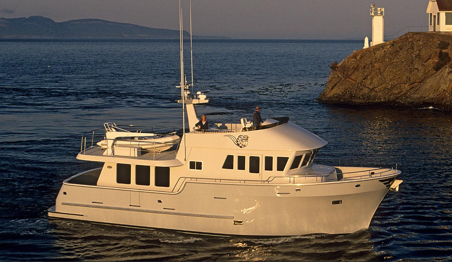 yacht de chalutier de mer du nord
