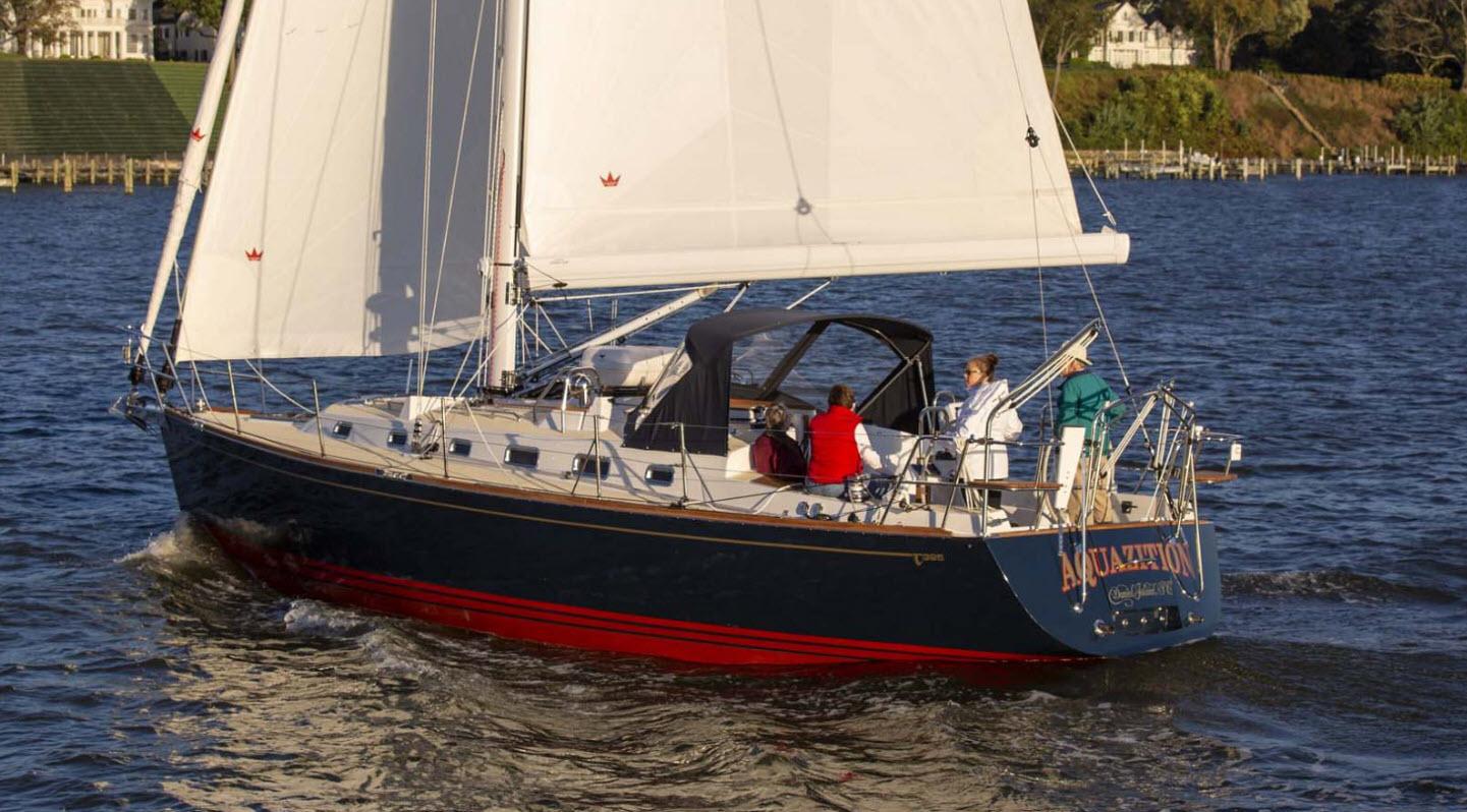 tartan 395 sailboat