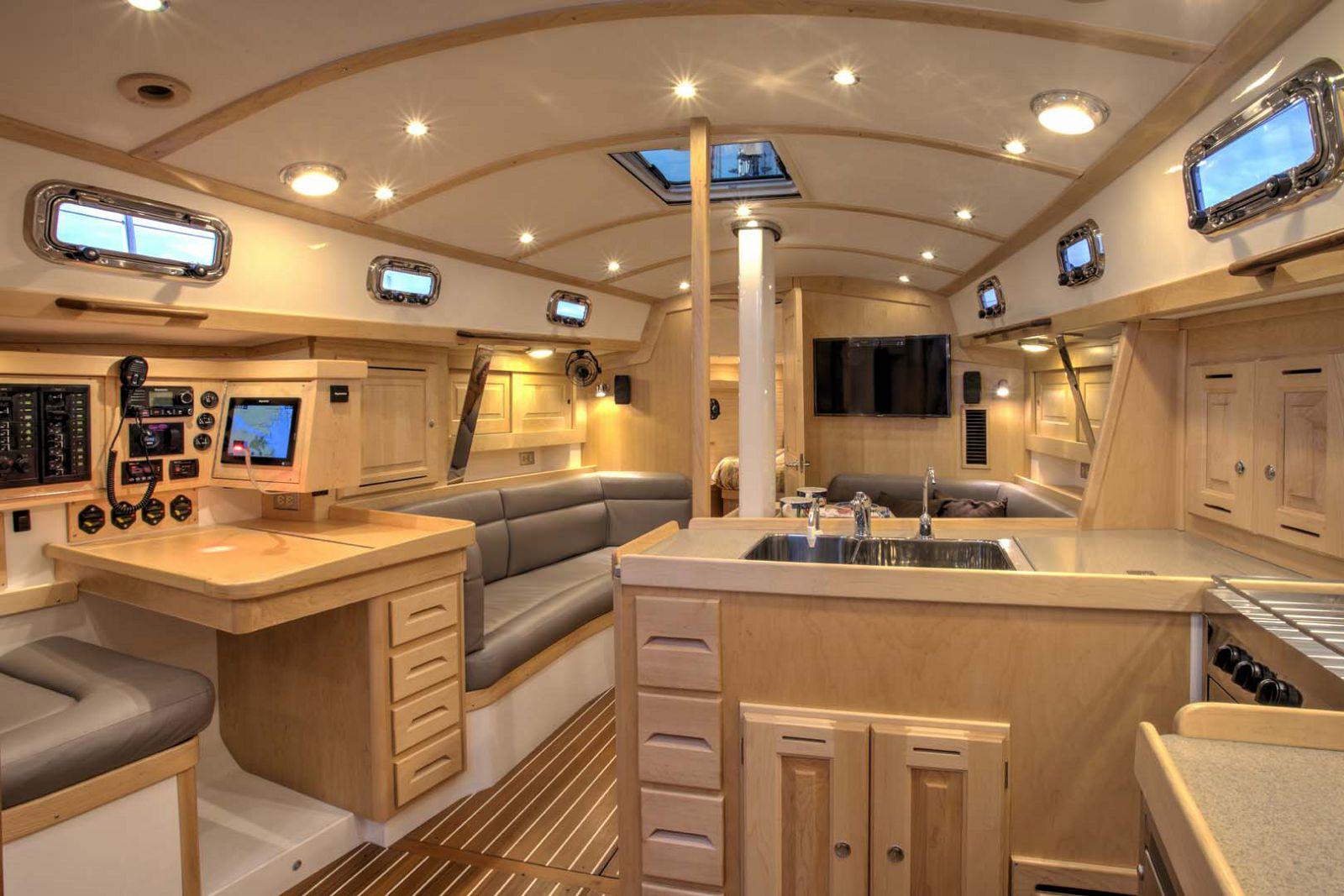 Intérieur de voilier Tartan Yachts 395