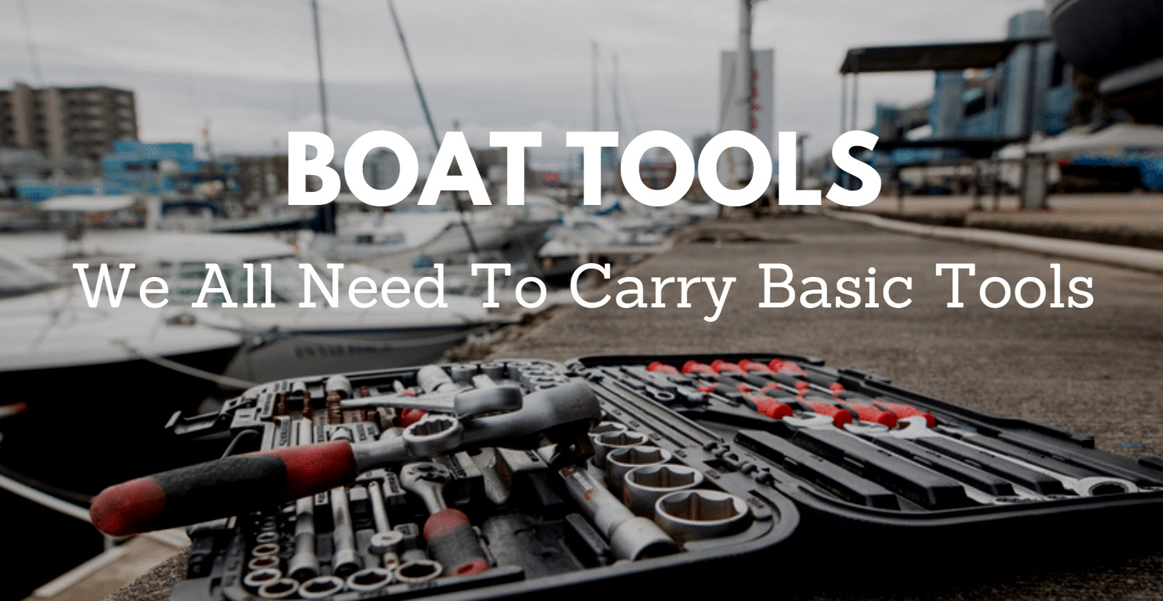 tools for your boat or yacht