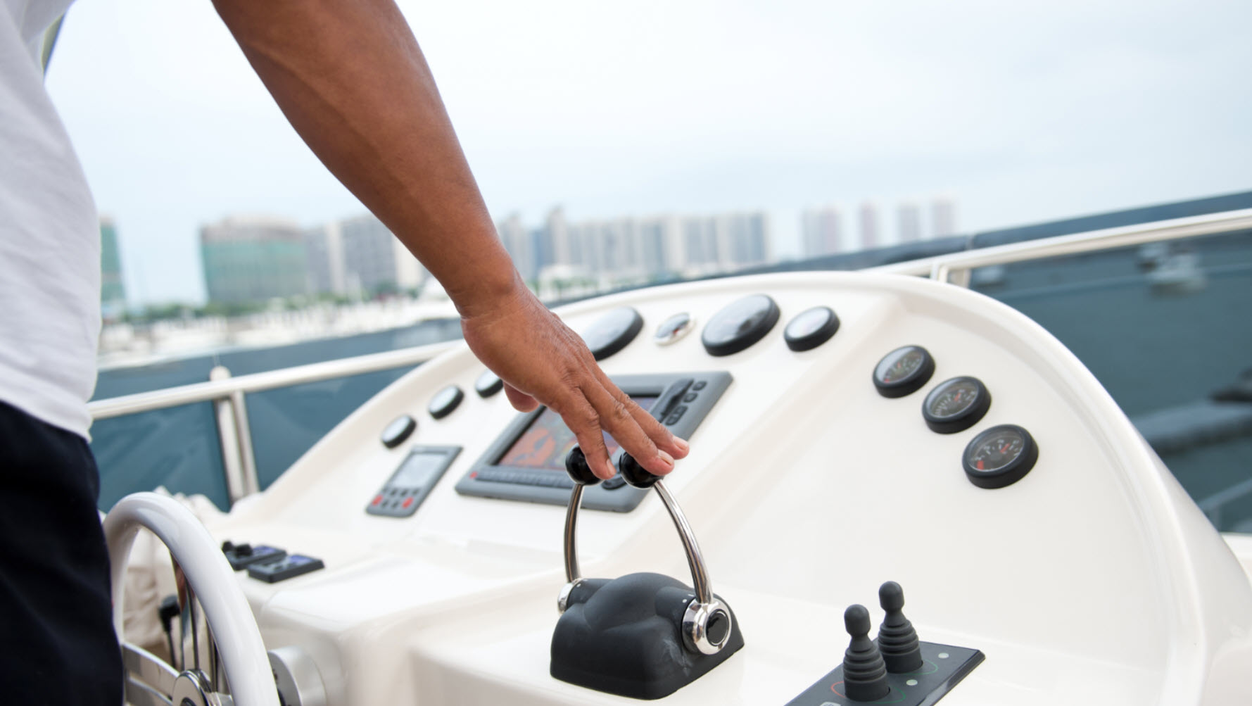 yacht technology and controls