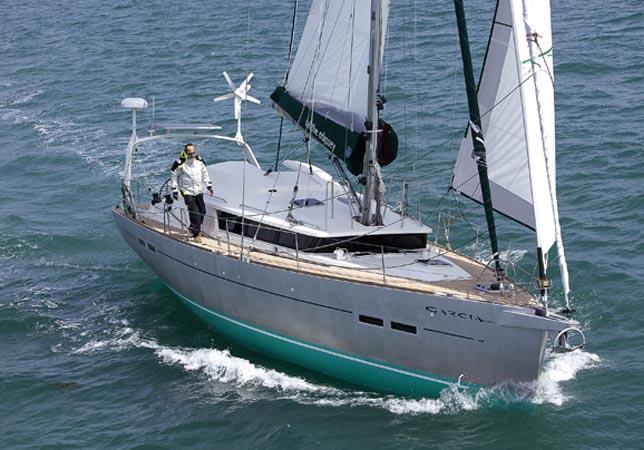 Ocean Crossing Sailboat
