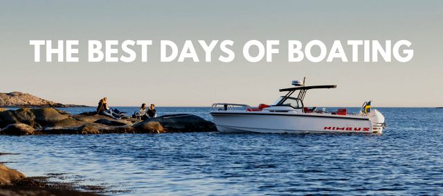 The Best Days Of Boat Ownership