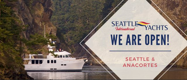 Seattle Yachts Washington Offices Are Open As Of May 11th