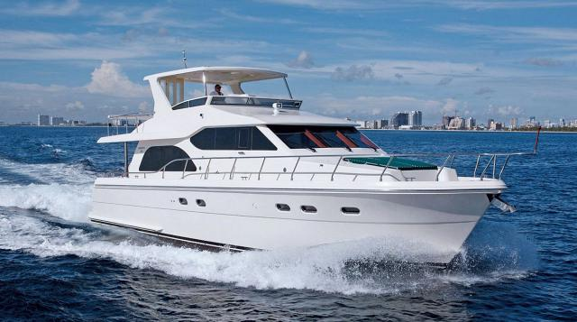 flybridge yachts for sale