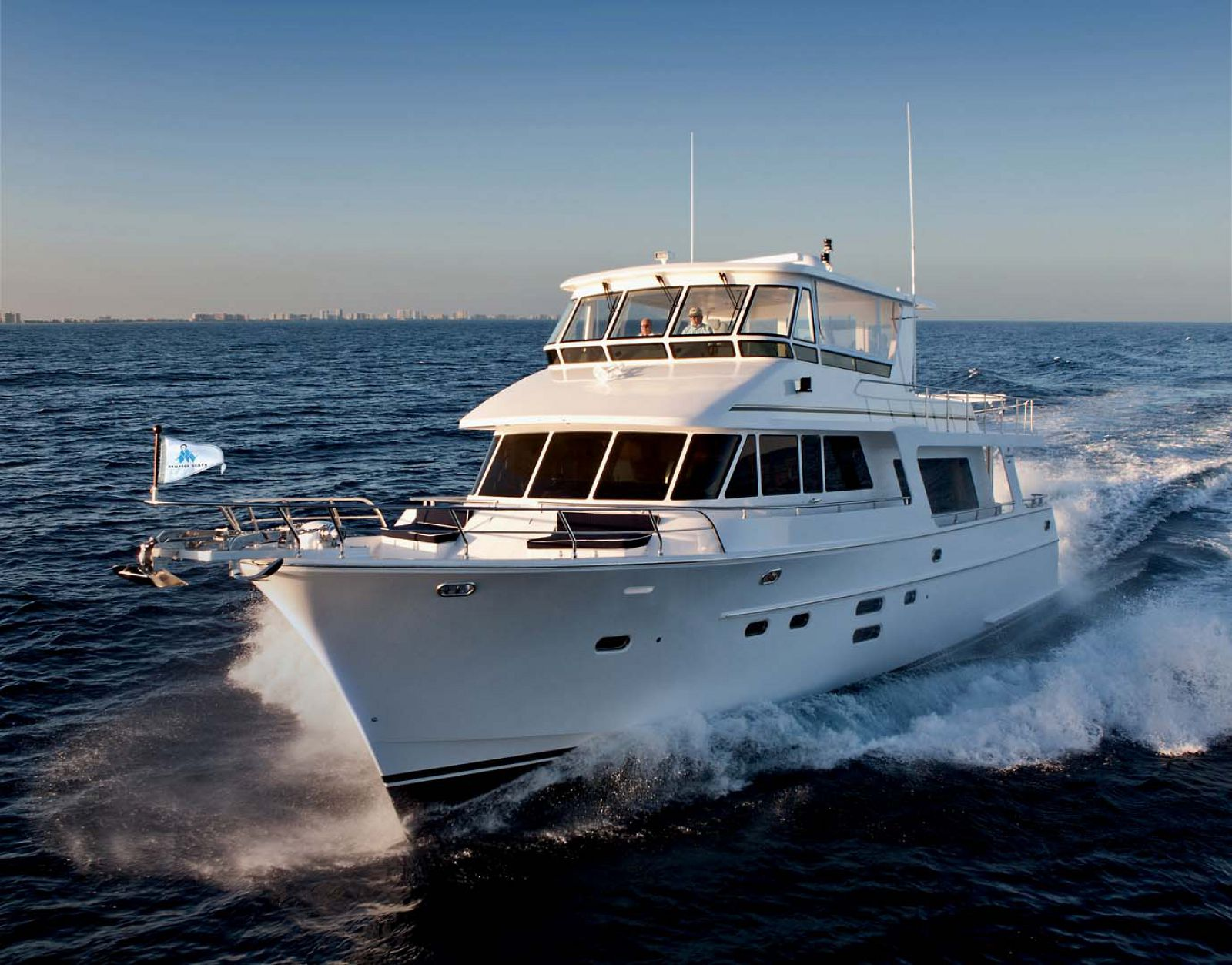 Hampton Endurance 680 pilothouse