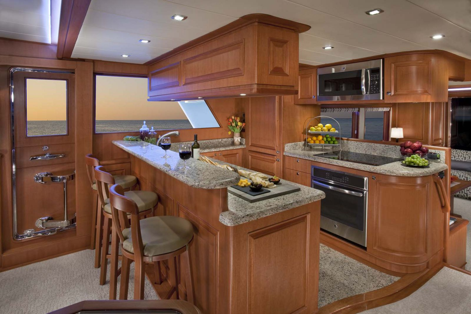 Galley on the Hampton Endurance 658