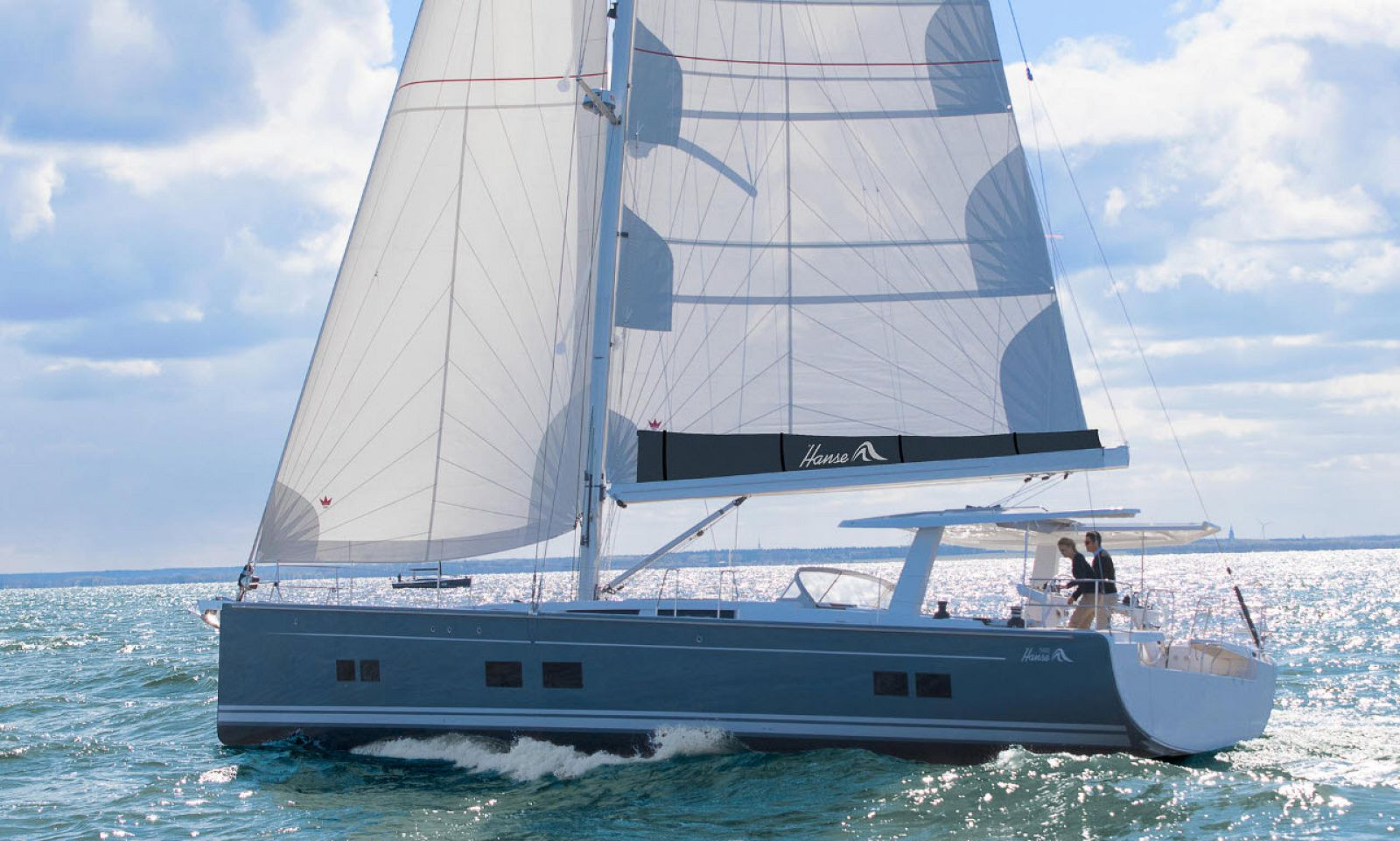 Sail open on Hanse 588