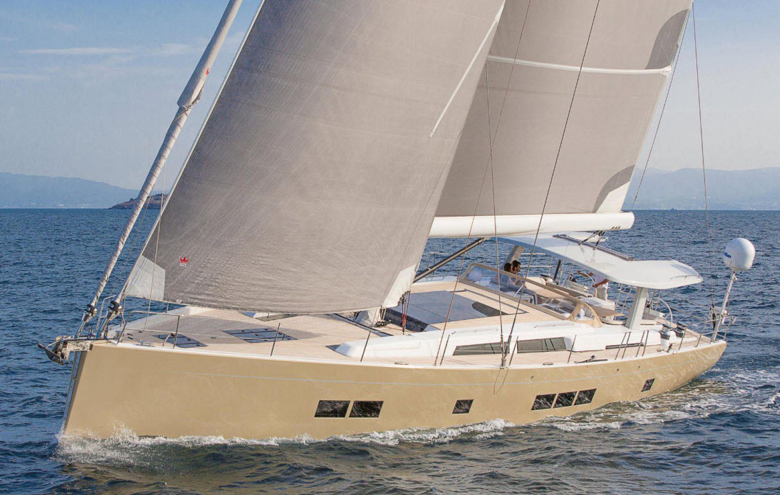High rig sail
