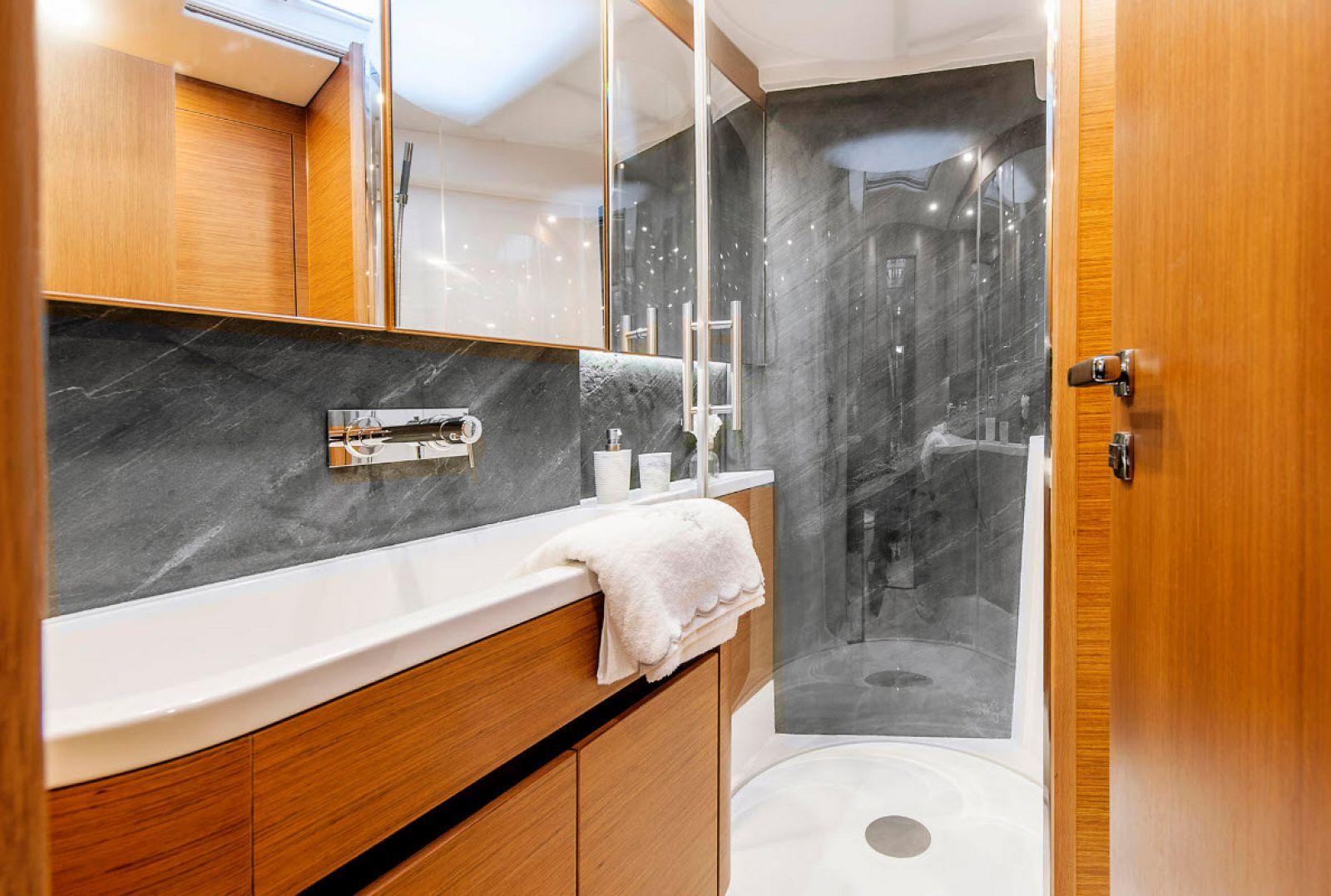 Master Bathroom and Sink