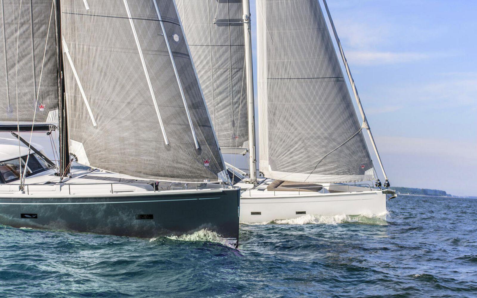 Moody 54 Sailing
