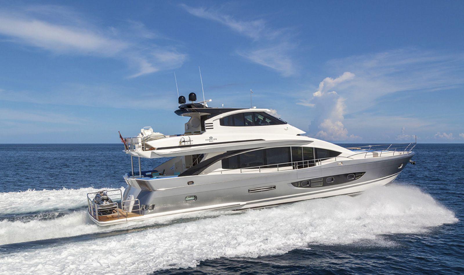 Hampton Yachts Euro 830