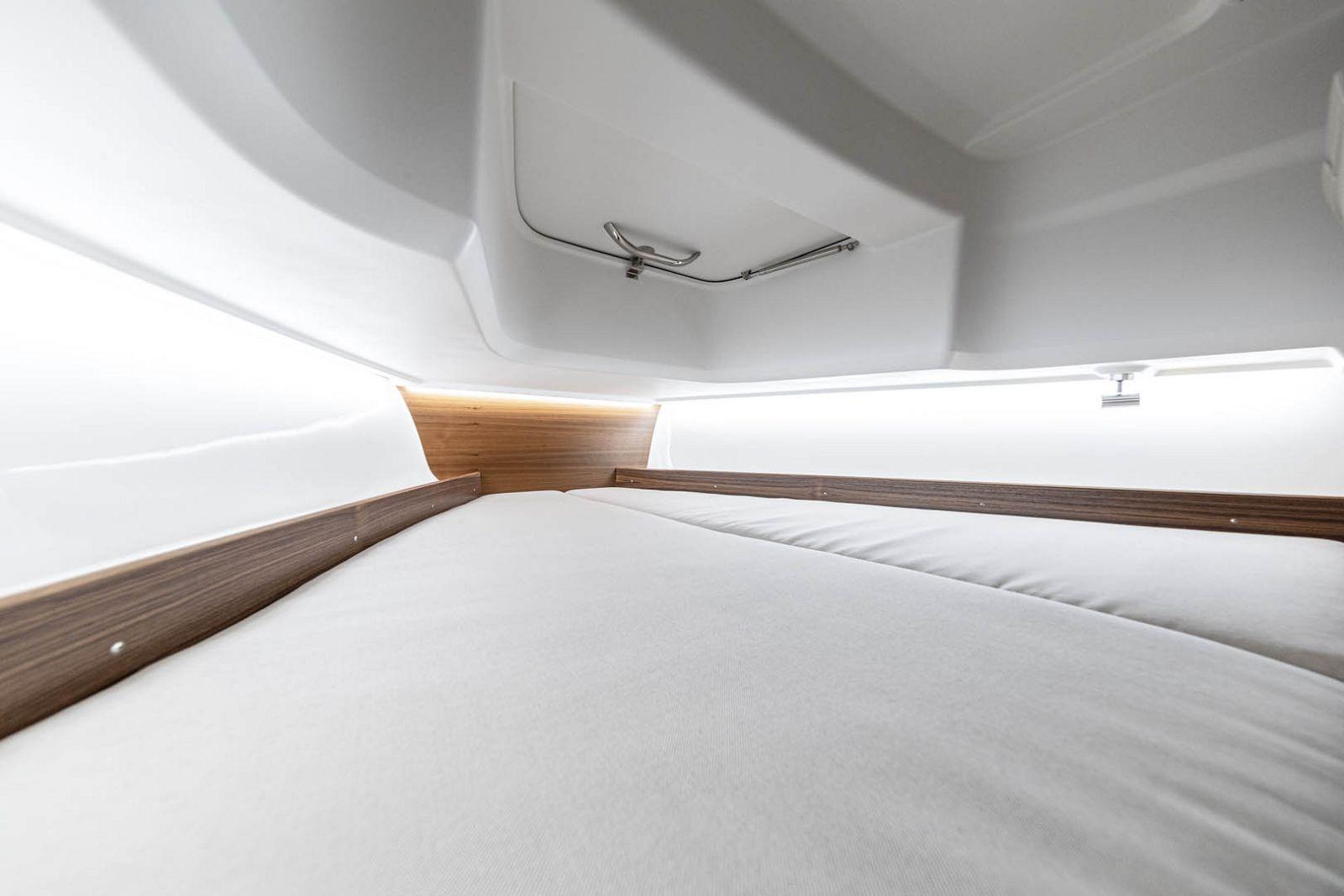 cabin on nimbus t8