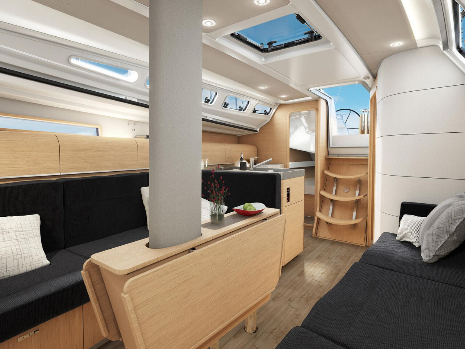 Interior Cabin on Dehler 38SQ