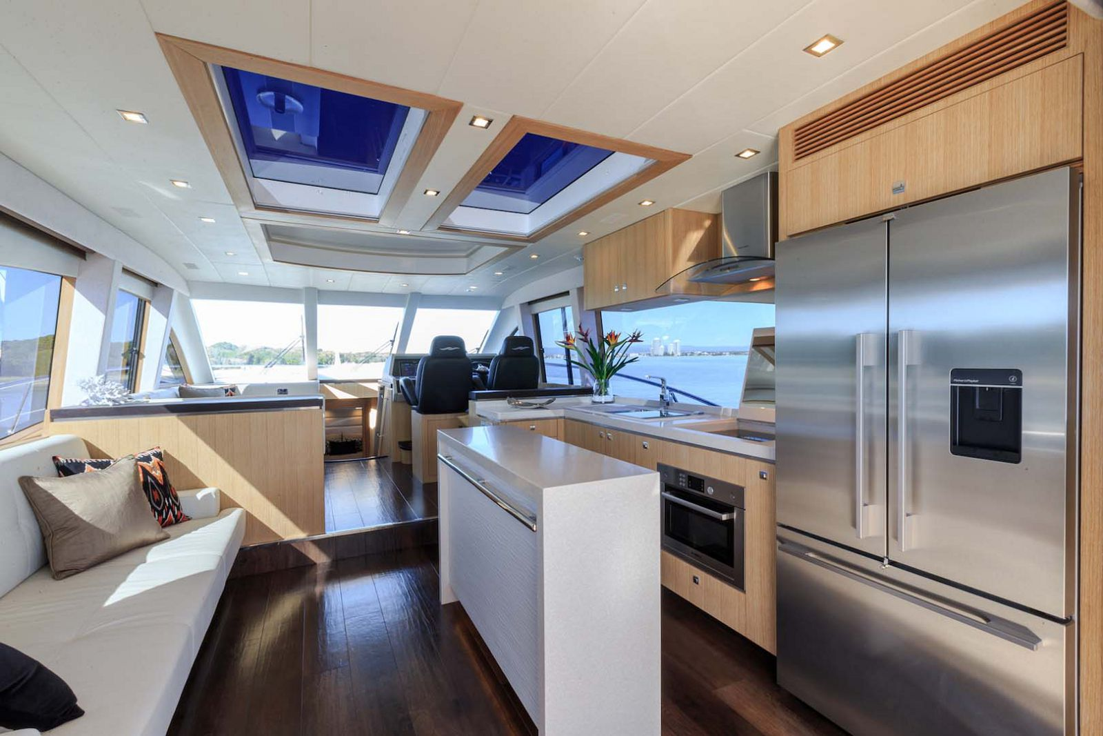 Whitehaven-6000-Coupe-Yacht-Galley