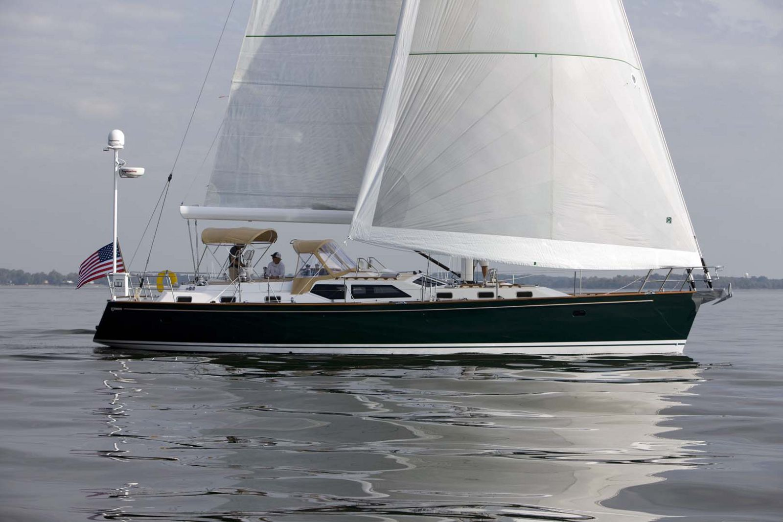 Tartan-Yachts-5300-Sailboat-Side