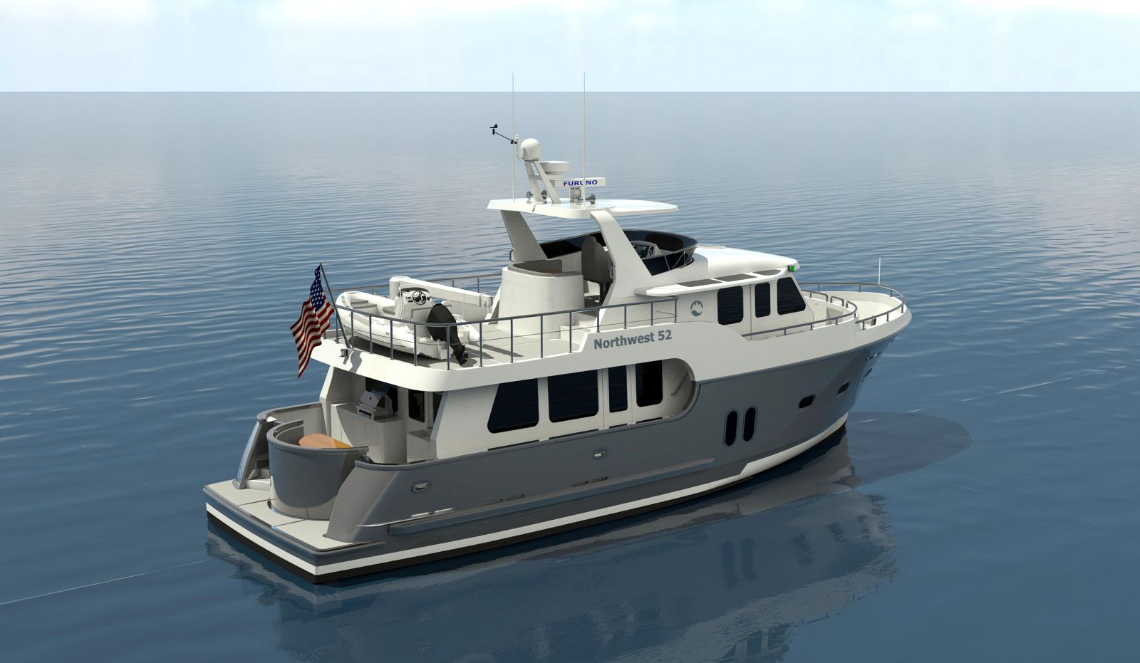 Northwest-Yachts 52-Trawler-Rendering