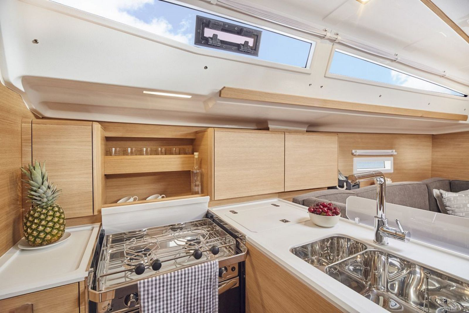 Elan-Yachts-E4-Sailboat-Galley