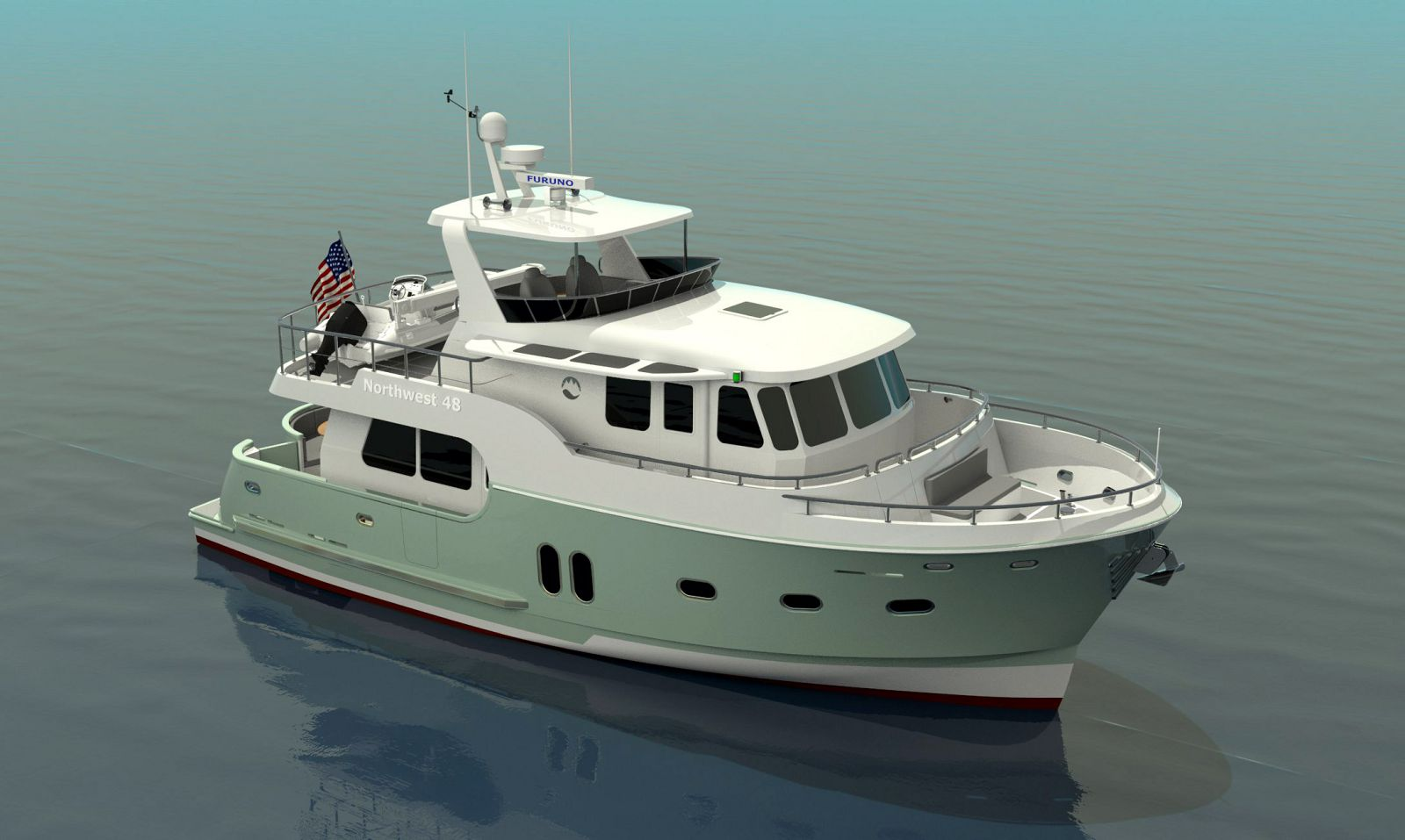 Northwest-Yachts-48-Trawler-Rendering