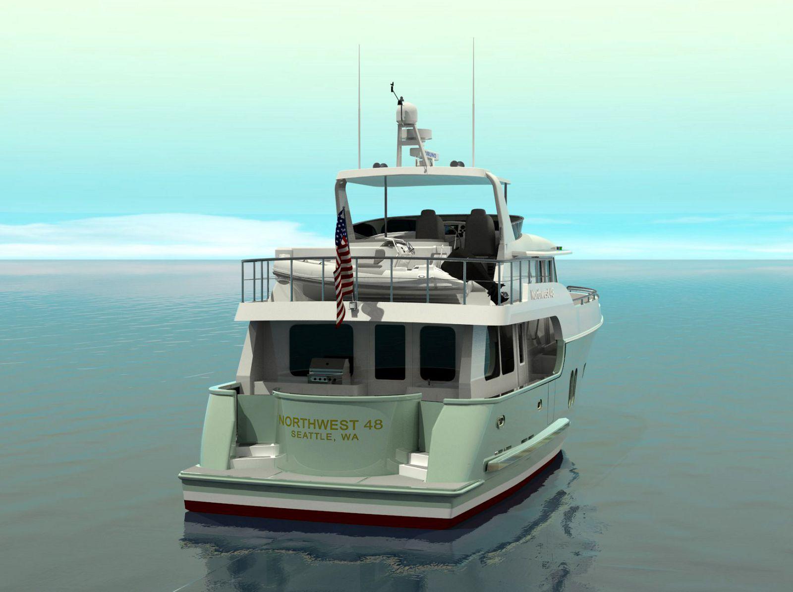 Northwest-Yachts-48-Trawler-Cockpit