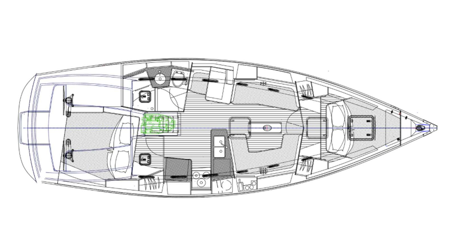 Tartan-Yachts-395-Sailboat-layout