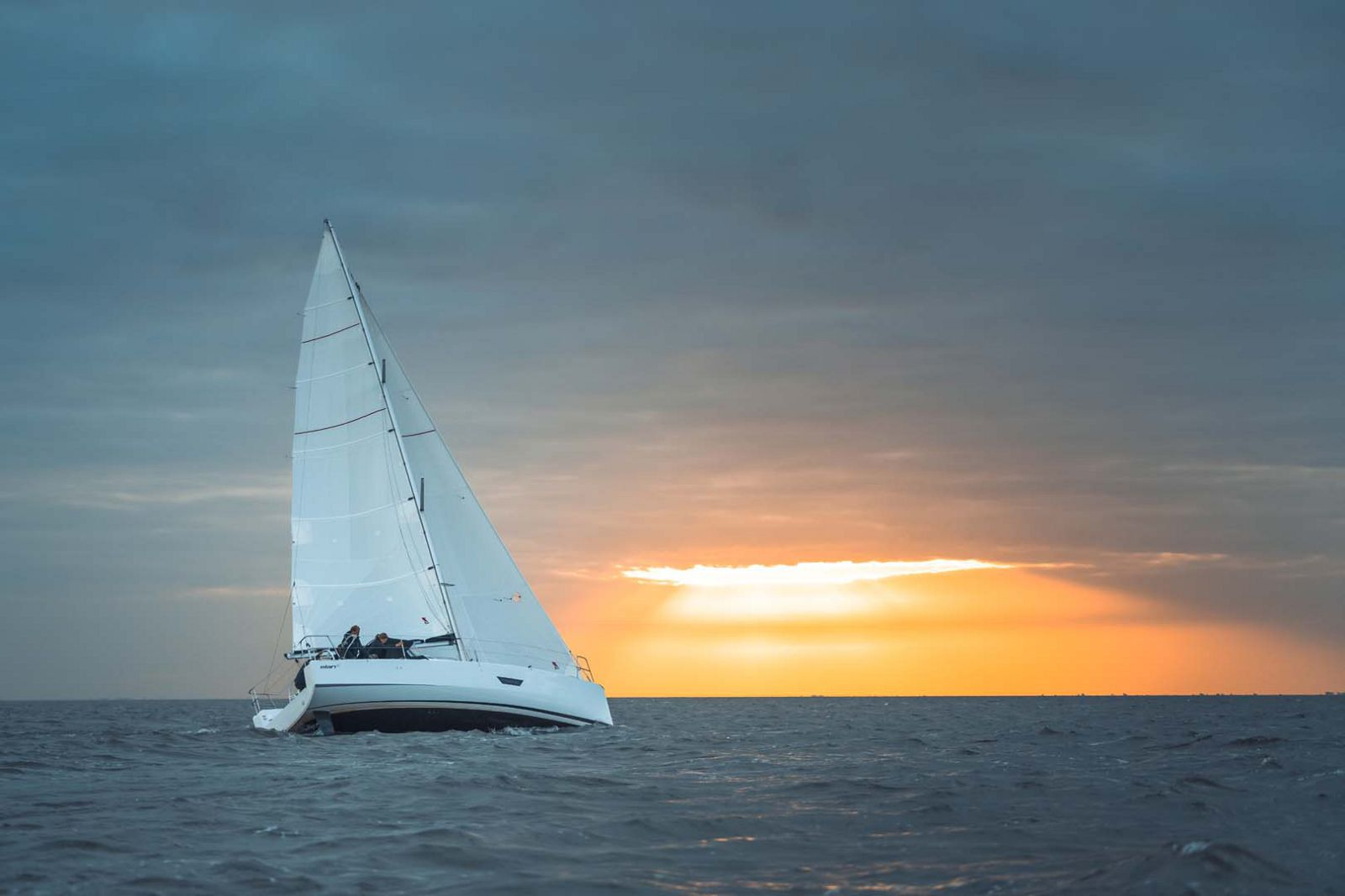 Elan-Yachts-E3-Sailboat-Sunset