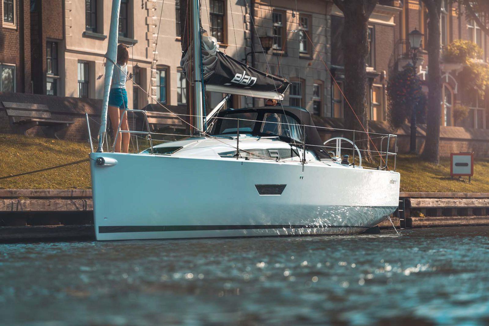 Elan-Yachts-E3-Sailboat-Tied-Up