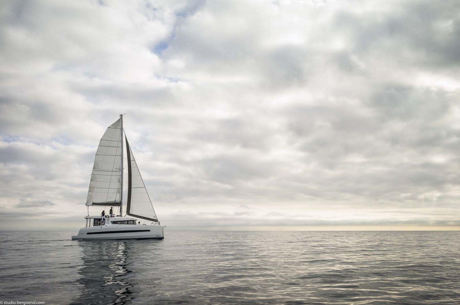 Bali 4.0 Catamaran Sailing