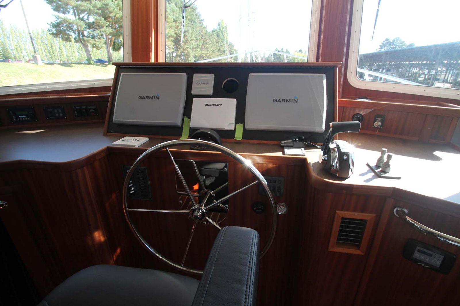 Helm Station on the American Tug 435