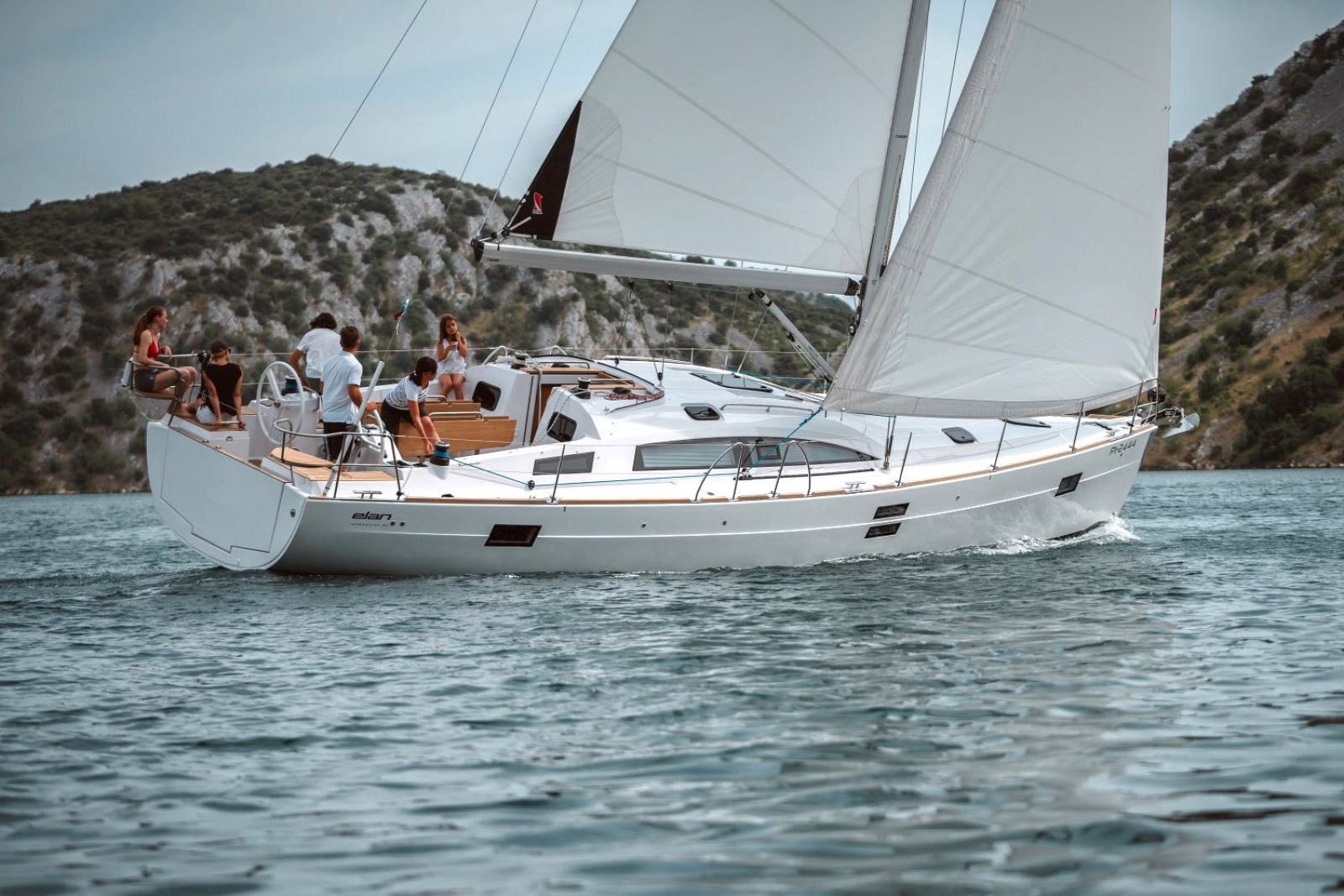 Elan Yachts Impression 45.1 Sailboat Running