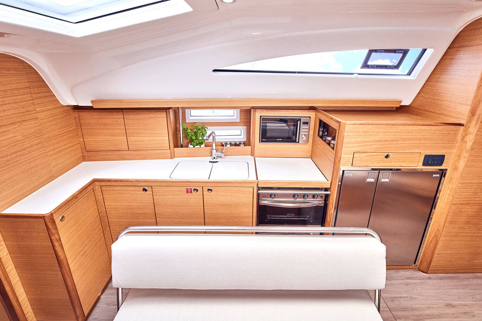 Galley on the elan yachts 45.1