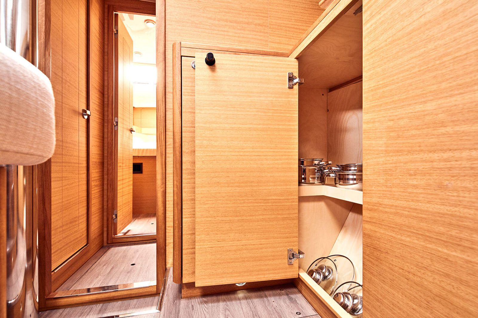 closet space on the elan 45.1