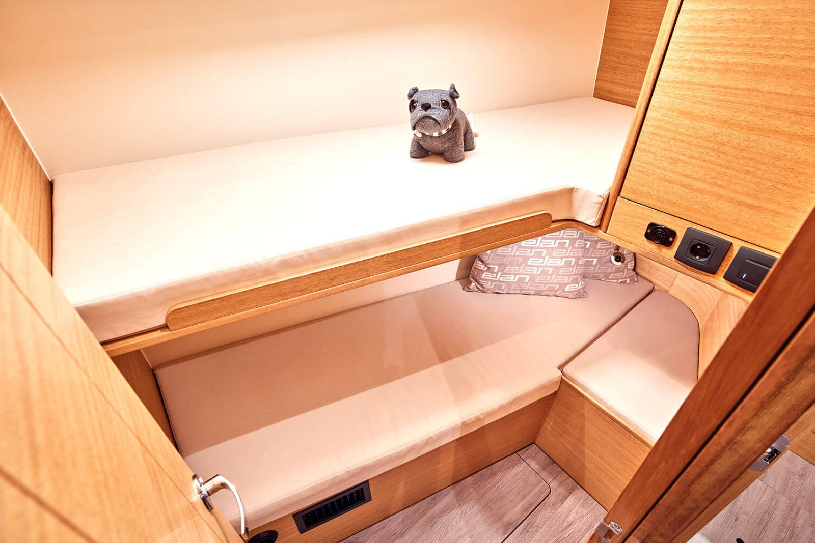 guest cabin on the elan 45.1